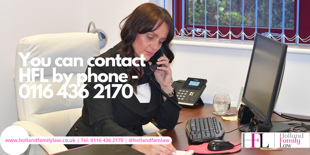 Contact Holland Family Law by phone during corona virus epidemic.
