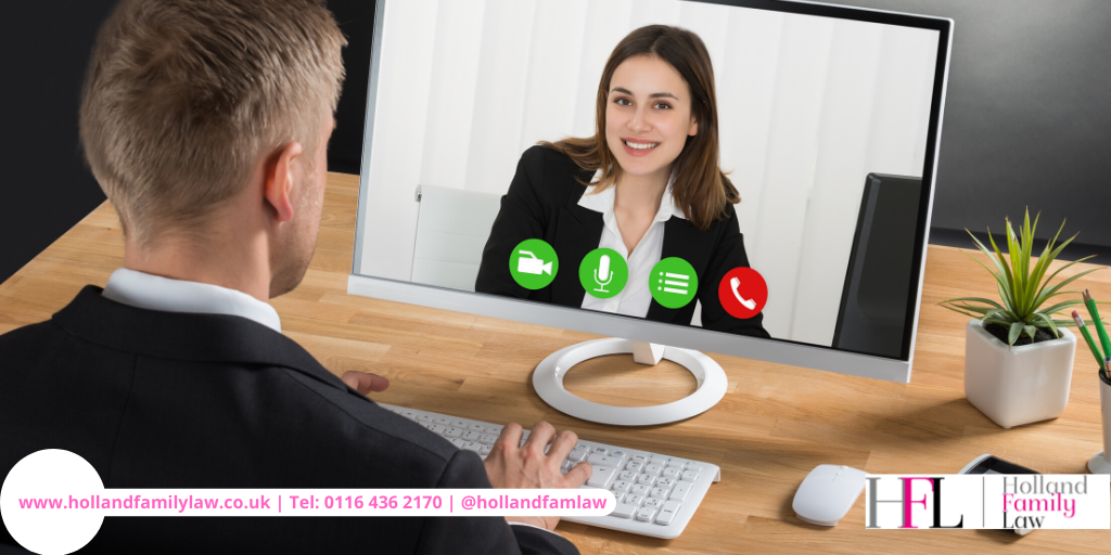 Video chat with Holland Family Law Leicester.