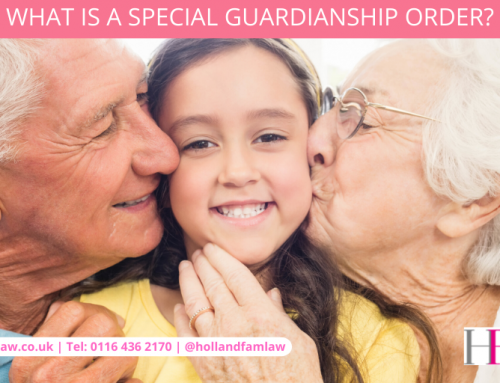 What is a Special Guardianship Order?