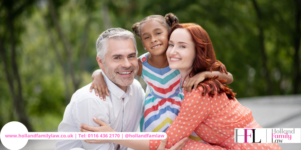 Family with a child after securing a special guardianship order.