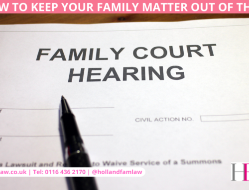How to Keep Your Family Matter Out of the Courts!