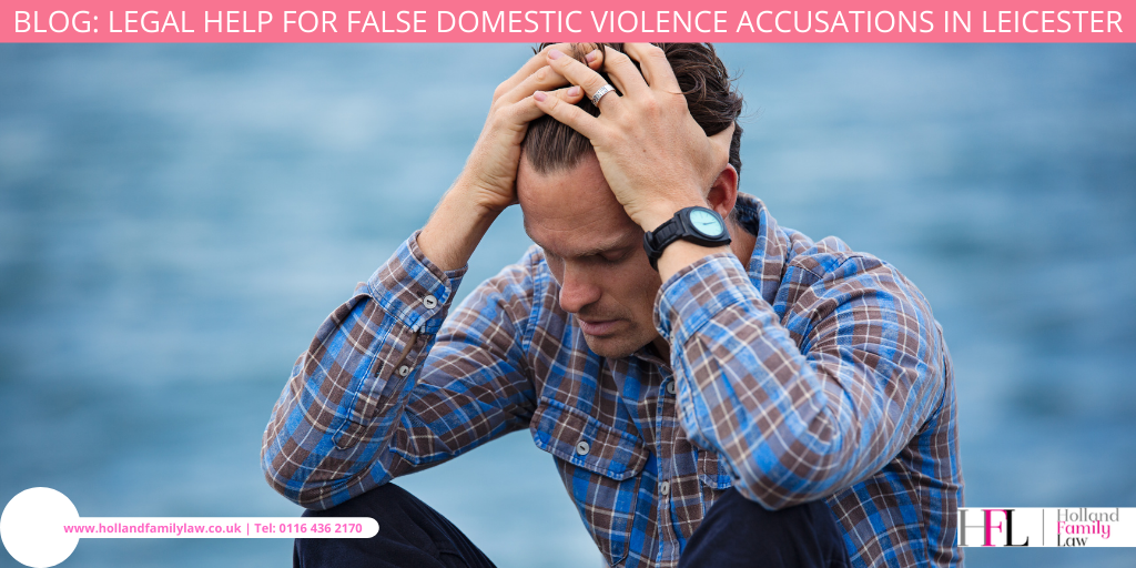 Man in distress after false domestic violence accusations are made against him.