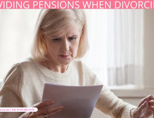 Dividing Pensions When Divorcing