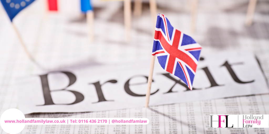 Brexit and UK Family Law.