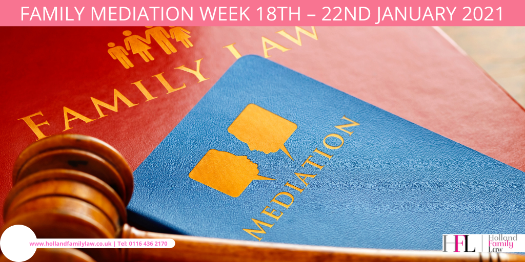The launch of Family Mediation Week 2021 in the UK.