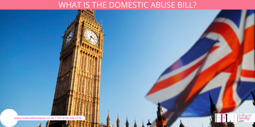 UK Parliament and the Domestic Abuse Bill.