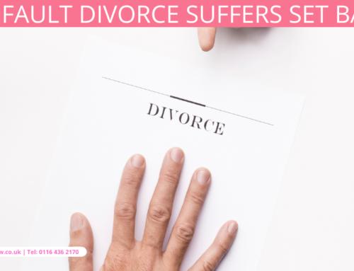 No fault divorce suffers set back